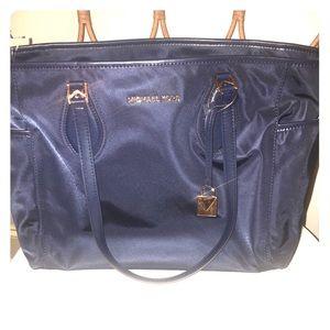 Michael Kors Connie Nylon Diaper Baby Bag in Navy